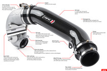 APR Carbon Turbo Inlet Pipe - RS3/TTRS 8V