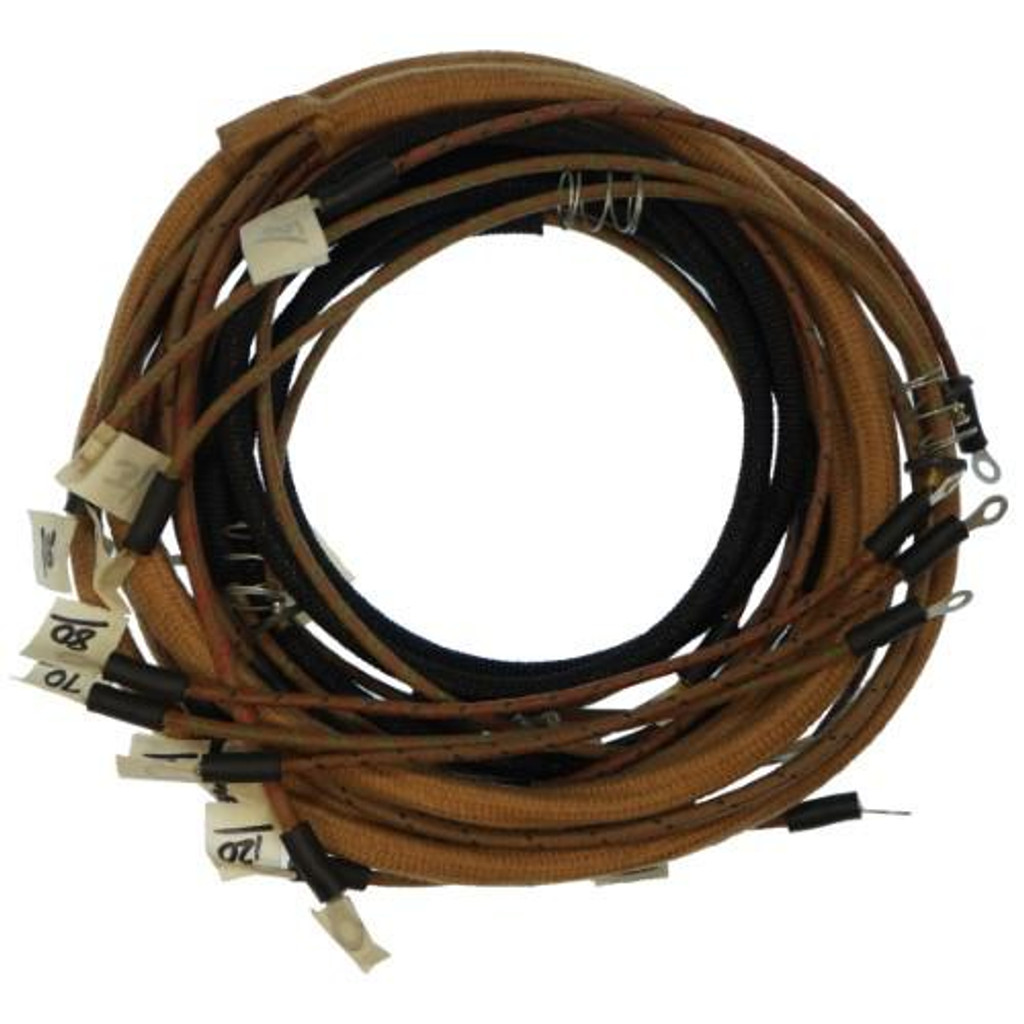 wiring harness kit tractors with 1 wire alternator allis chalmers rh stores djstractorparts com wiring harness for antique tractors wiring harness for ford 5000 tractor