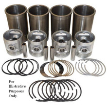 """Pistons Sleeves and Rings Kit 3-9/16"""" overbore 