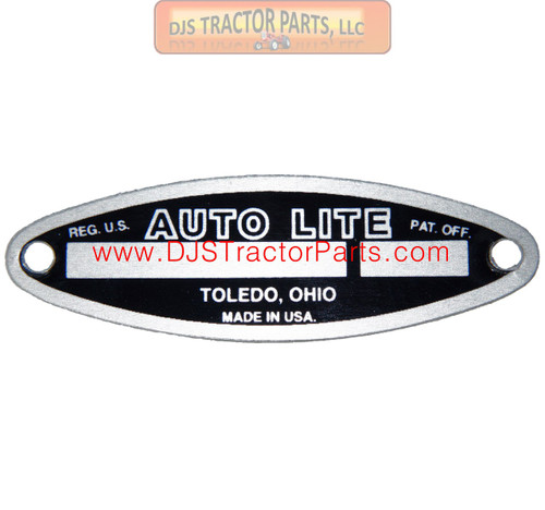 BLANK GENERATOR TAG FOR AUTOLITE - AB-519D