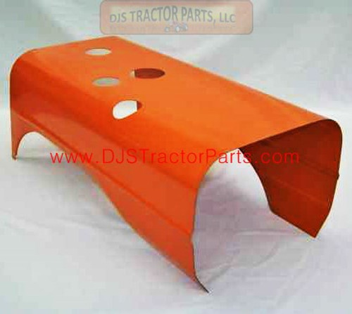 Allis Chalmers B, C, CA - Hood With Small Exhaust Hole - Ki1034