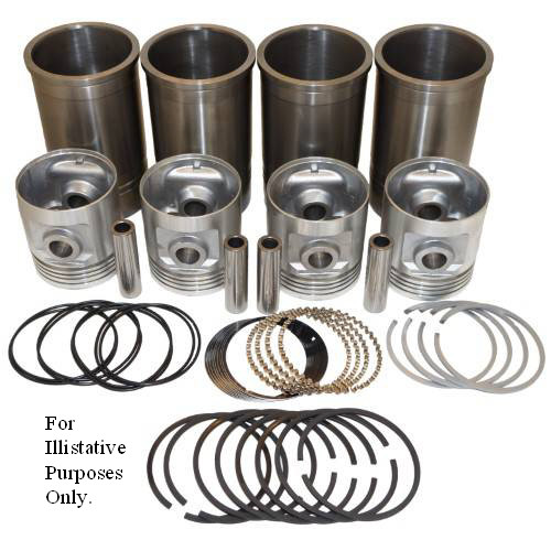 "Pistons Sleeves and Rings Kit 4-1/8"" overbore 