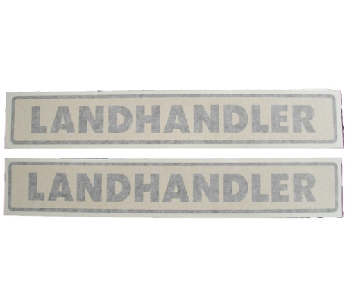 Allis Chalmers Landhandler Vinyl Decals | Set of 2