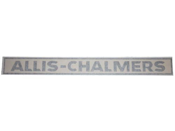 Allis Chalmers Fuel Tank Vinyl Decal - 190 210 220