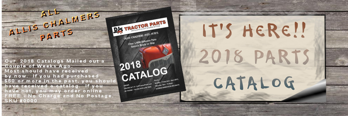 Allis Chalmers Dealer Parts Catalog 2018
