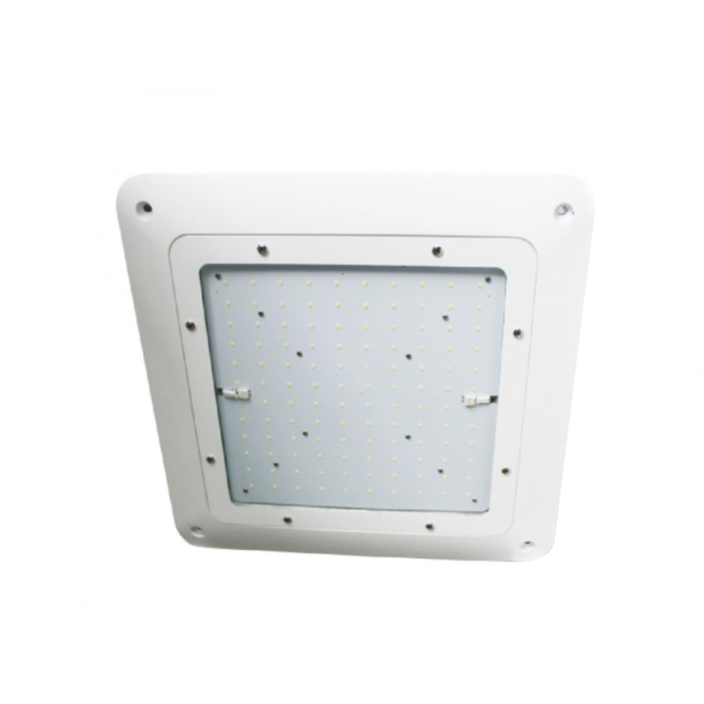 Overhead Lights In Garage: LED Lighting Fixtures For Parking Garages & Canopies For Sale