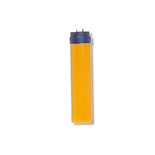 Re-Usable Amber Tube Guard Sleeve For 4 Foot T12 Fluorescent Bulbs