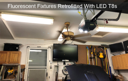 2 Foot LED T8 Bulbs - 9 Watt - Choose Your Color Temperature