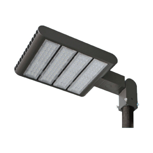 LED Security Light - Can be used for all LED Outdoor Flood Lighting Requirements, 220 Watt - 20,000 Lumens, With Adjustable Slipfitter Mount for 2-2.5 Inch Pole Mount