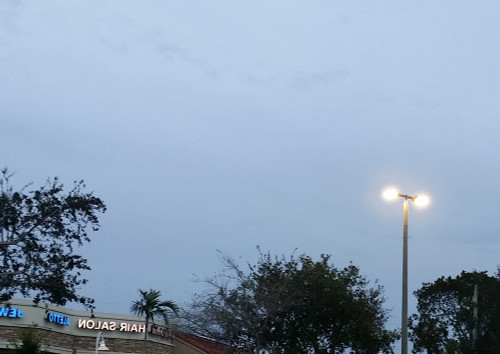 LED Parking Lot or Street Light - Choose Your Wattage and Mounting