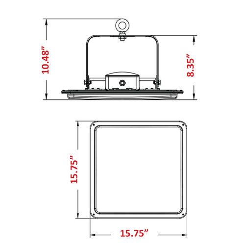 LED Square High Bay