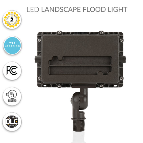 LED Landscape Flood Security Light - Choose Your Wattage and Lumens