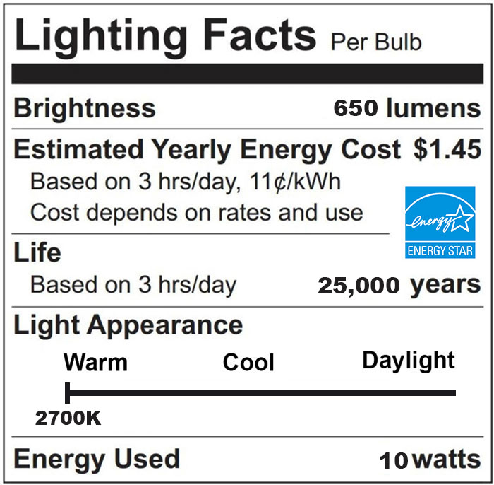 """LED BR30 Flood Bulb, Perfect Replacement For 65W-75W Recessed Can Light - <span style=""""color: red;""""> Warm 2700K Color On Sale Now!</span>  or Choose Other Color Temperatures"""