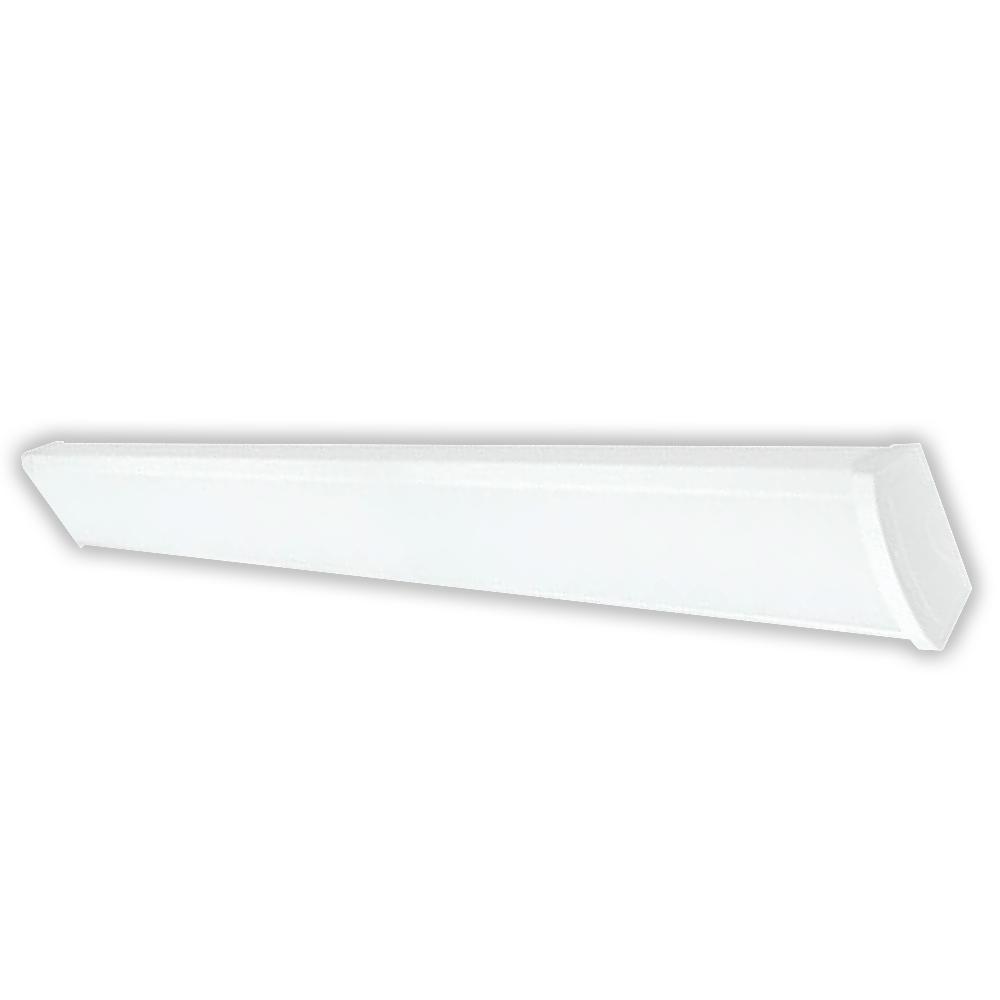 4 Foot Led Ceiling Light Fixture: 4 Foot LED Wrap Around Ceiling Light Fixture