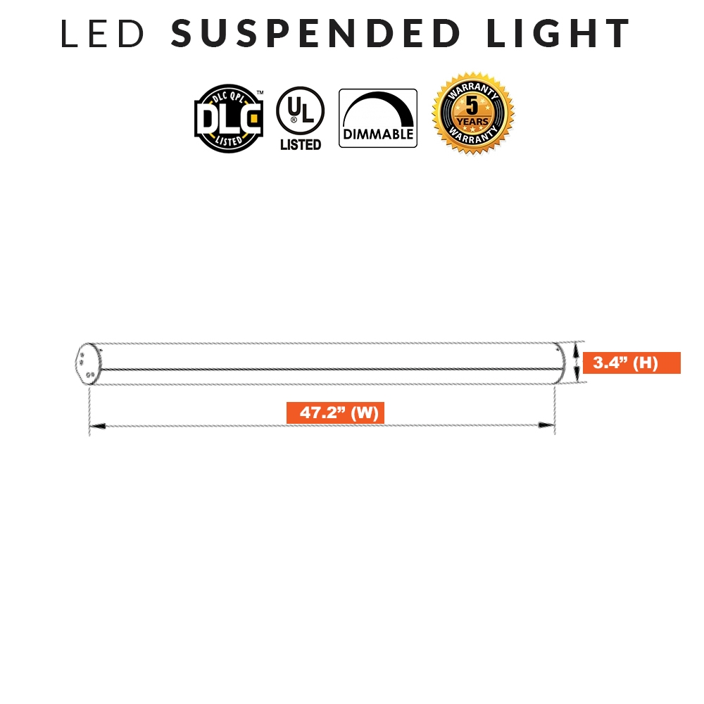 LED Suspended Office Light