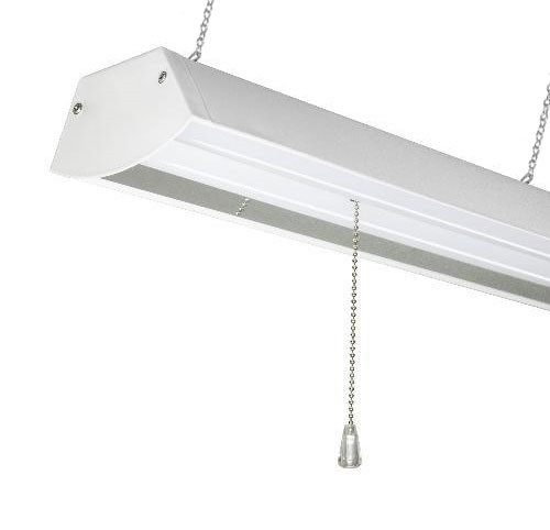 Elegant LED Shop Light Fixture   4 Foot   Really Bright 48 Watt   Choose Chain  Mount Or Ceiling Mount