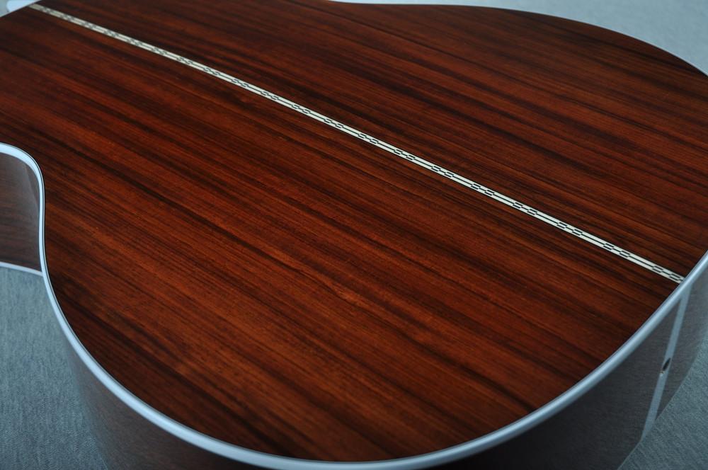 "2016 Martin Custom Shop 000-28 Guatemalan Ambertone 1 3/4"" Nut #2021545 - Back Angle"