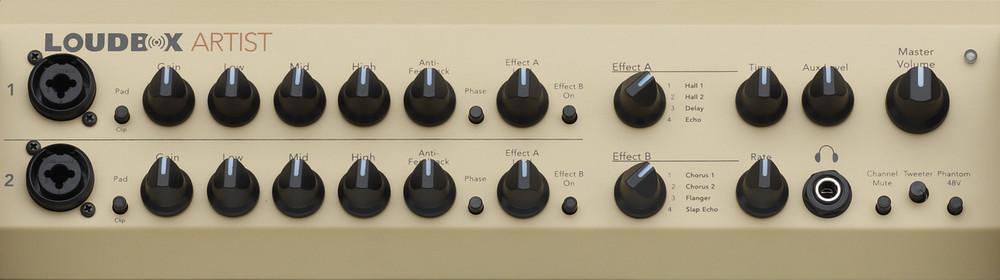 Fishman Loudbox Artist 120-watt Acoustic Guitar Amplifier - XLR DI Output - View 2
