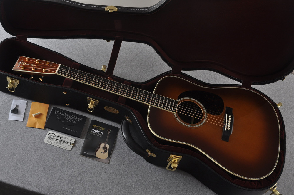 2017 Martin Custom Shop D-41 Adirondack Cocobolo Rosewood #2097536 - Case