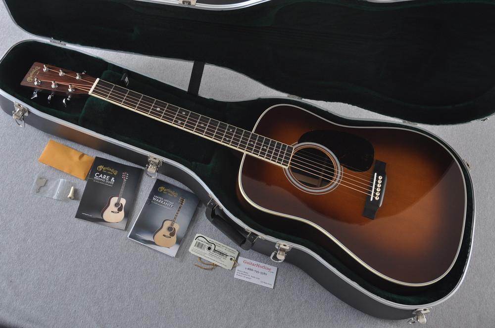 Martin D-35 (2018) Ambertone Standard Acoustic Guitar #2146016 - Case