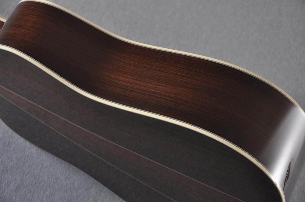 Martin D-35 (2018) Ambertone Standard Acoustic Guitar #2146016 - Side