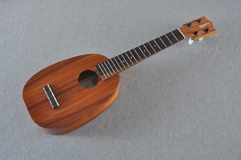 Kamaka Long Neck Pineapple Ukulele HP-1L - New 2018 - Made in Hawaii - 171837 - View 4