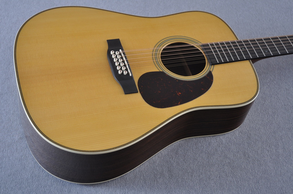 Martin HD12-28 Standard Dreadnought 12-String Acoustic Guitar #2158739 - Beauty