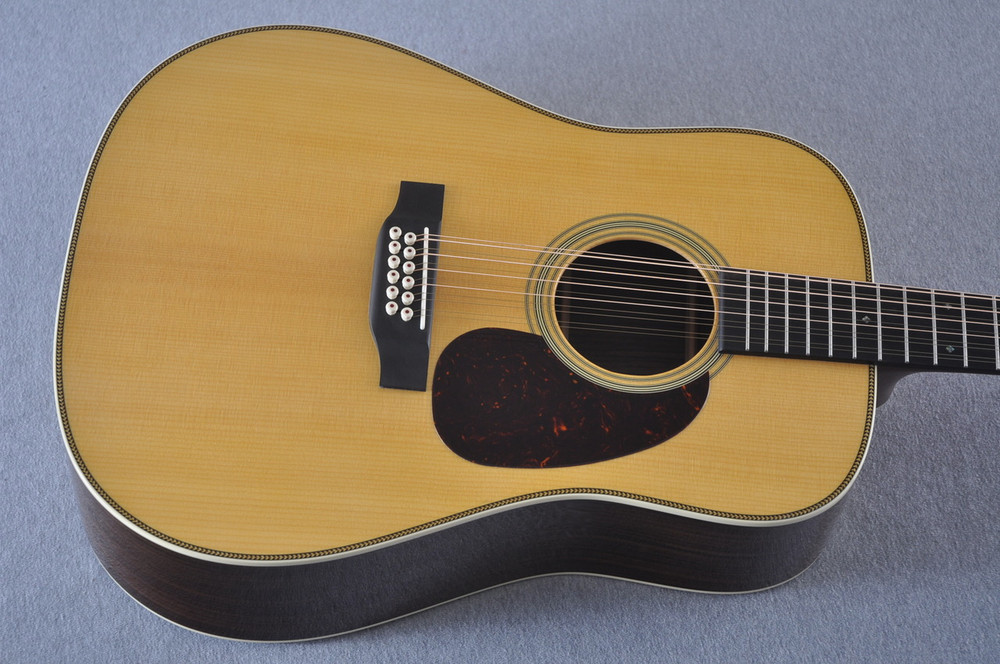 Martin HD12-28 Standard Dreadnought 12-String Acoustic Guitar #2158739 - Top