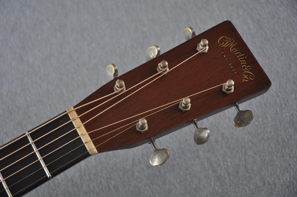 Martin D-18 Authentic 1939 VTS Adirondack Acoustic Guitar #2154135 - Headstock