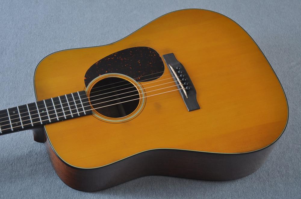 Martin D-18 Authentic 1939 VTS Adirondack Acoustic Guitar #2154135 - Reverse Top