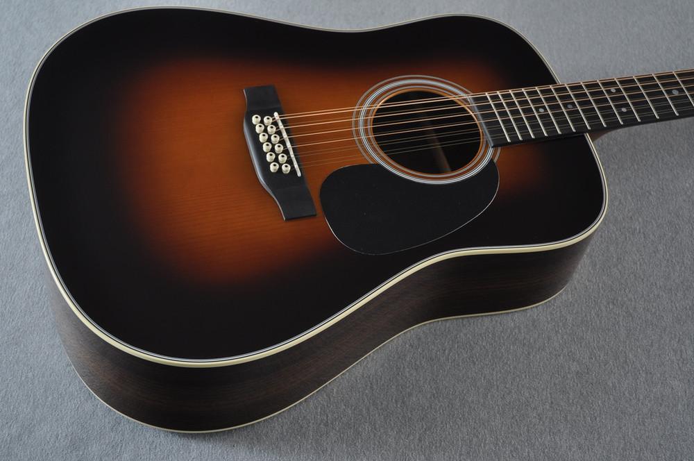 Martin Custom Shop D12-28 Adirondack Sunburst 12-String Acoustic Guitar #2166941 - Beauty