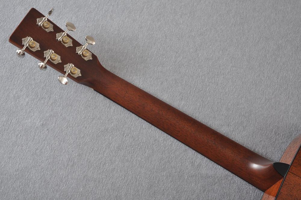 Martin Custom Shop 00-18 Adirondack Spruce Top Acoustic Guitar #2164199 - Back Neck