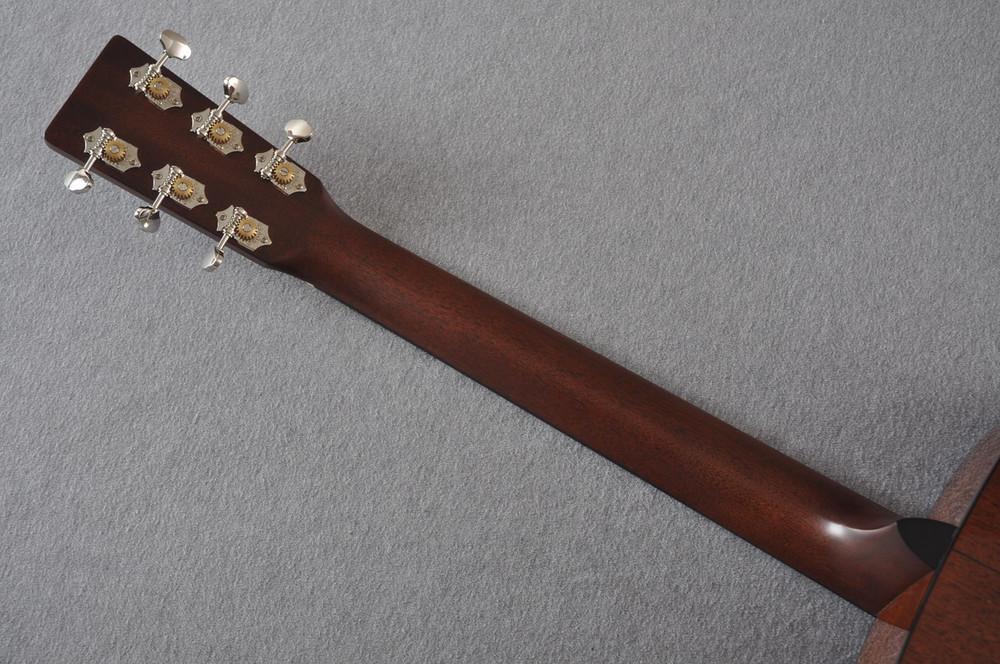 Martin Custom Shop D-18 Adirondack Ambertone Acoustic Guitar #2166927 - Back Neck