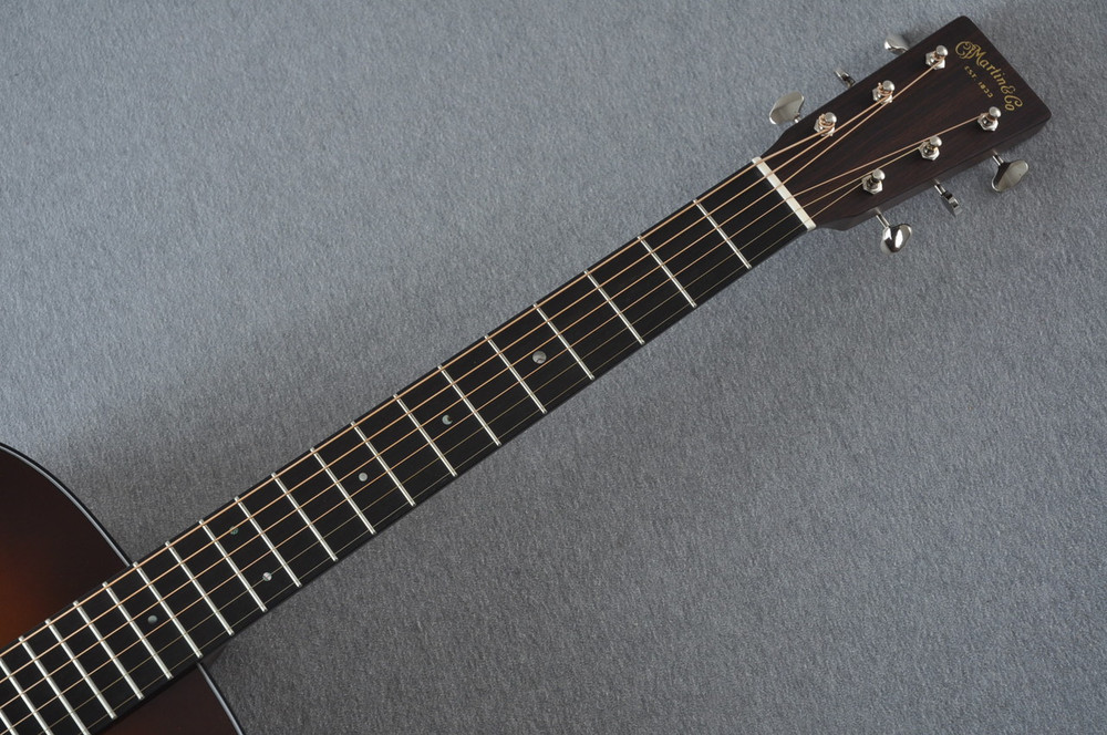 Martin Custom Shop D-18 Adirondack Ambertone Acoustic Guitar #2166927 - Neck
