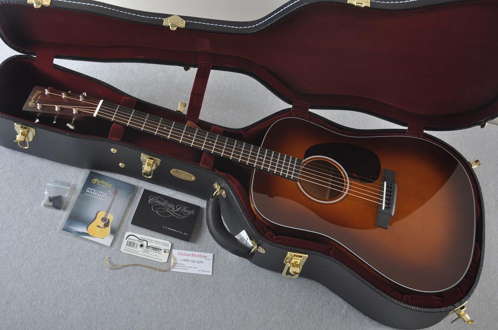 Martin Custom Shop D-18 Adirondack Ambertone Acoustic Guitar #2166927 - Case