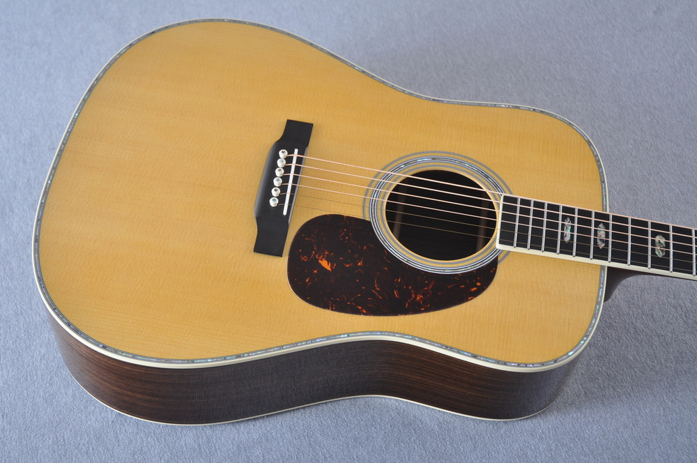Martin D-41 (2018) Standard Acoustic Guitar #2174820 - Top Angle