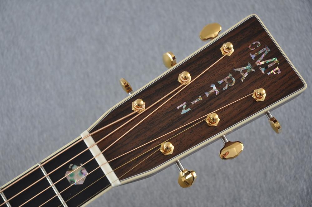 Martin D-41 (2018) Standard Acoustic Guitar #2174820 - Headstock