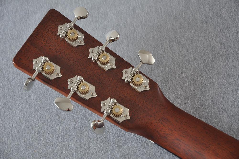 Martin Custom Shop 0-18 Adirondack Spruce Acoustic Guitar #2164198 - Back Headstock