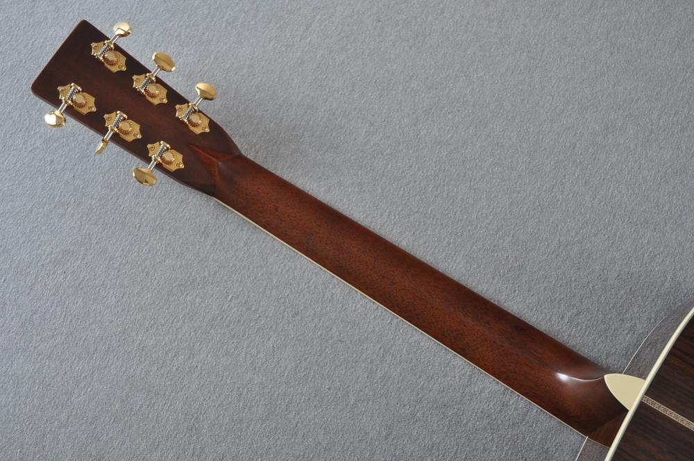 Martin D-41 (2018) Standard 1935 Sunburst Acoustic Guitar #2193531 - Back Neck