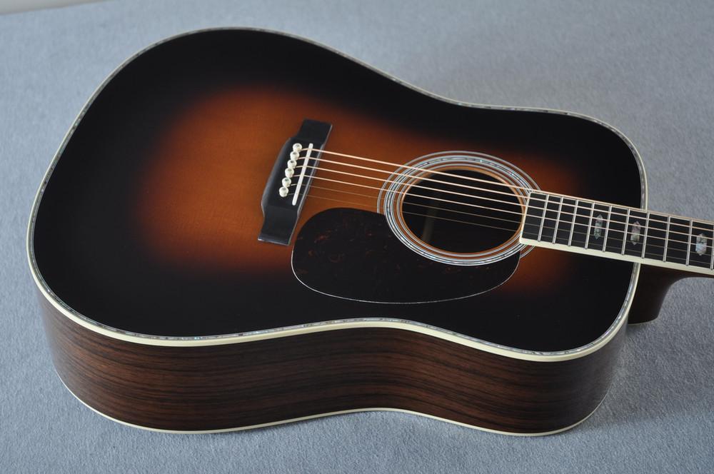 Martin D-41 (2018) Standard 1935 Sunburst Acoustic Guitar #2193531 - Top Angle