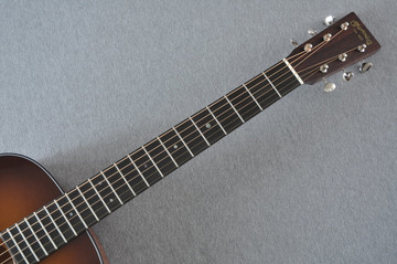 Martin Custom Shop 0-18 Adirondack Spruce Ambertone Acoustic Guitar #2121991 - Neck