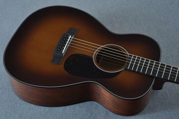 Martin Custom Shop 0-18 Adirondack Spruce Ambertone Acoustic Guitar #2121991 - Reverse Beauty