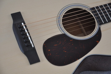 Martin Custom Shop 0-18 Adirondack Clear Acoustic Guitar #2146970 - Bridge