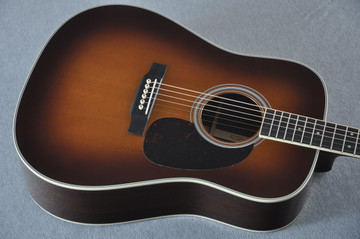 Martin D-35 (2018) Ambertone Standard Acoustic Guitar #2146016 - Top