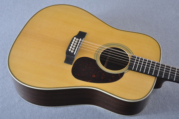 Martin HD12-28 Standard Dreadnought 12-String Acoustic Guitar #2158739 - Reverse Beauty
