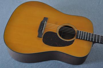 Martin D-18 Authentic 1939 VTS Adirondack Acoustic Guitar #2154135 - Top