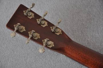 Martin D-18 Authentic 1939 VTS Adirondack Acoustic Guitar #2154135 - Back Headstock