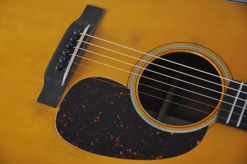 Martin D-18 Authentic 1939 VTS Adirondack Acoustic Guitar #2154135 - Pickguard