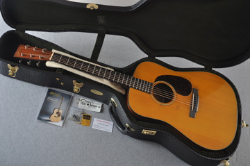 Martin D-18 Authentic 1939 VTS Adirondack Acoustic Guitar #2154135 - Case