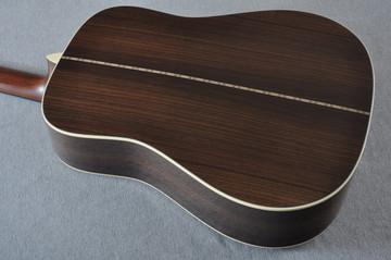 Martin Custom Shop D12-28 Adirondack Sunburst 12-String Acoustic Guitar #2166941 - Back Angle